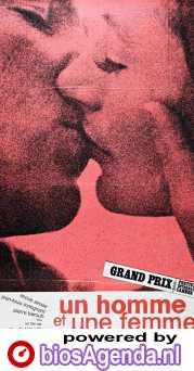 A Man and a Woman poster, copyright in handen van productiestudio en/of distributeur