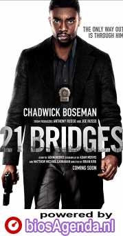 21 Bridges poster, © 2019 The Searchers