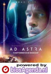 Ad Astra poster, © 2019 The Walt Disney Company Benelux / 20th Century Fox