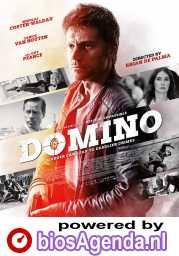 Domino poster, copyright in handen van productiestudio en/of distributeur