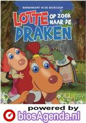 Lotte op zoek naar de draken poster, © 2019 In the air