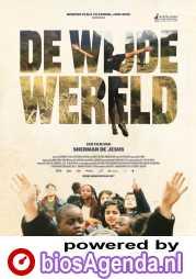 De Wijde Wereld poster, copyright in handen van productiestudio en/of distributeur