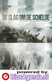 De slag om de Schelde poster, copyright in handen van productiestudio en/of distributeur