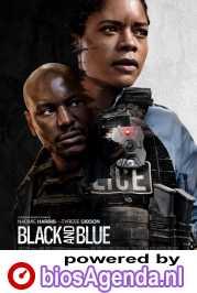 Black and Blue poster, copyright in handen van productiestudio en/of distributeur