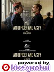 An Officer and a Spy poster, copyright in handen van productiestudio en/of distributeur