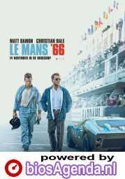 Le Mans '66 poster, © 2019 The Walt Disney Company Benelux / 20th Century Fox