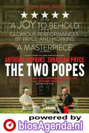 The Two Popes poster, © 2019 The Searchers
