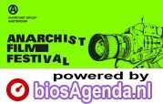Anarchist Film Festival poster, copyright in handen van productiestudio en/of distributeur