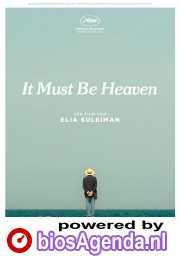It Must Be Heaven poster, © 2019 O'Brother (via Gusto Entertainment)