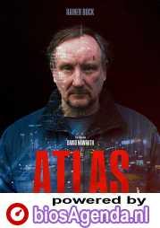 Atlas poster, copyright in handen van productiestudio en/of distributeur