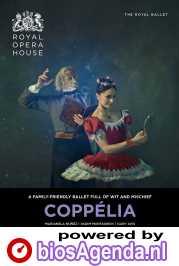 Royal Opera House: Coppélia poster, copyright in handen van productiestudio en/of distributeur