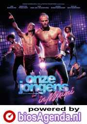 Onze Jongens in Miami poster, © 2020 Dutch FilmWorks