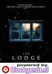 The Lodge poster, © 2019 The Searchers