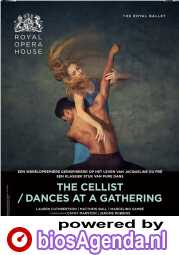 Royal Opera House: The Cellist / Dances at a Gathering poster, © 2020 Piece of Magic