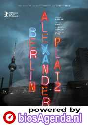 Berlin Alexanderplatz poster, copyright in handen van productiestudio en/of distributeur
