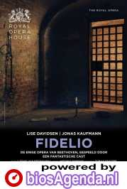 Royal Opera House: Fidelio poster, © 2020 Piece of Magic