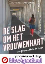 De Slag om het Vrouwenhart poster, copyright in handen van productiestudio en/of distributeur