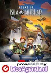 Lego Jurassic World: Legend of Isla Nublar poster, copyright in handen van productiestudio en/of distributeur
