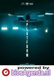 The Platform poster, copyright in handen van productiestudio en/of distributeur
