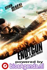 End of a Gun poster, copyright in handen van productiestudio en/of distributeur