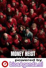 Money Heist poster, copyright in handen van productiestudio en/of distributeur
