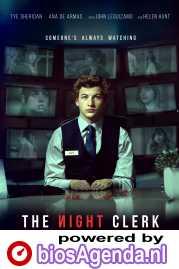 The Night Clerk poster, copyright in handen van productiestudio en/of distributeur