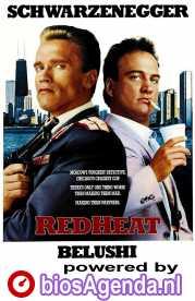 Red Heat poster, copyright in handen van productiestudio en/of distributeur