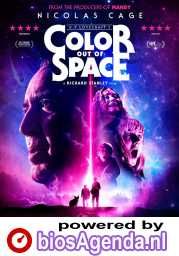 Color Out of Space poster, © 2019 Splendid Film