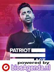 Patriot Act with Hasan Minhaj poster, copyright in handen van productiestudio en/of distributeur