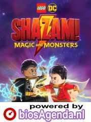 Lego Superheroes Shazam: Monsters & Magic poster, copyright in handen van productiestudio en/of distributeur