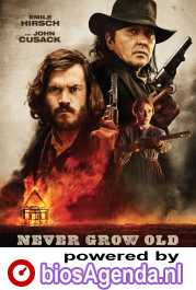 Never Grow Old poster, copyright in handen van productiestudio en/of distributeur