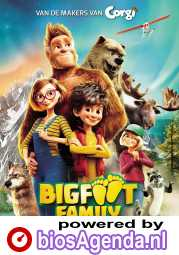 Bigfoot Family poster, © 2020 Independent Films
