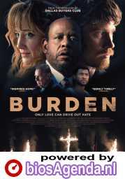 Burden poster, copyright in handen van productiestudio en/of distributeur