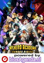 My Hero Academia: Heroes Rising poster, © 2019 Periscoop Film