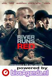 River Runs Red poster, copyright in handen van productiestudio en/of distributeur