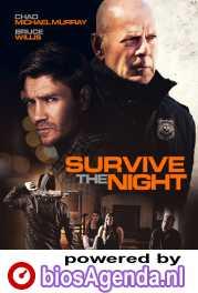 Survive the Night poster, copyright in handen van productiestudio en/of distributeur
