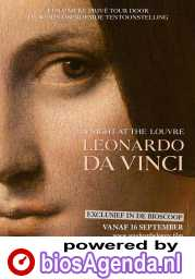 A Night at the Louvre, Leonardo Da Vinci poster, © 2020 Piece of Magic