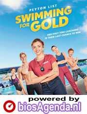 Swimming for Gold poster, copyright in handen van productiestudio en/of distributeur