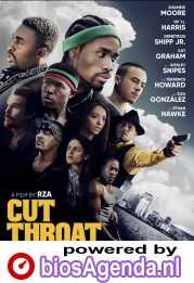 Cut Throat City poster, copyright in handen van productiestudio en/of distributeur