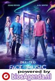Bill & Ted Face the Music poster, copyright in handen van productiestudio en/of distributeur