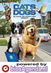Cats & Dogs: Paws Unite poster, © 2020 Warner Bros.