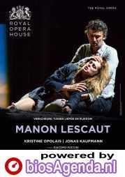 ROH Manon Lescaut poster, copyright in handen van productiestudio en/of distributeur