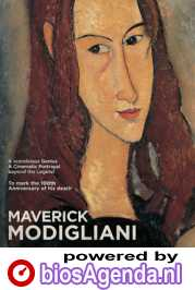 Arts in Cinema: Maverick Modigliani poster, copyright in handen van productiestudio en/of distributeur