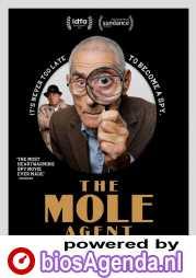 The Mole Agent poster, © 2020 Cinema Delicatessen