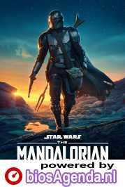 The Mandalorian poster, copyright in handen van productiestudio en/of distributeur