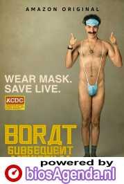 Borat Subsequent Moviefilm poster, copyright in handen van productiestudio en/of distributeur