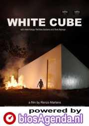 The White Cube poster, © 2020 Cinema Delicatessen