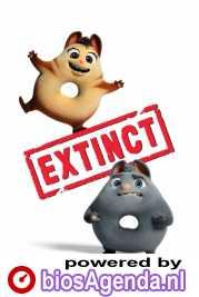 Extinct poster, copyright in handen van productiestudio en/of distributeur