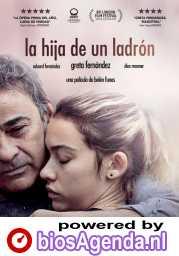 La Hija de un Ladrón poster, copyright in handen van productiestudio en/of distributeur