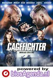 Cagefighter poster, copyright in handen van productiestudio en/of distributeur